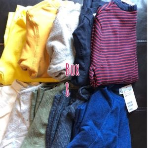 Other - SALE‼️ Boxes of Boys clothing items ‼️